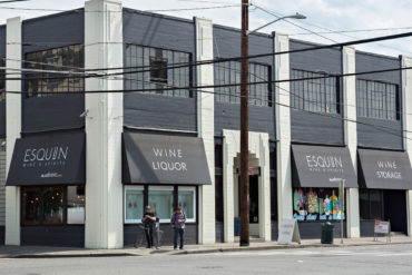Esquin and Overall Buildings - Corner View - InSODO Seattle