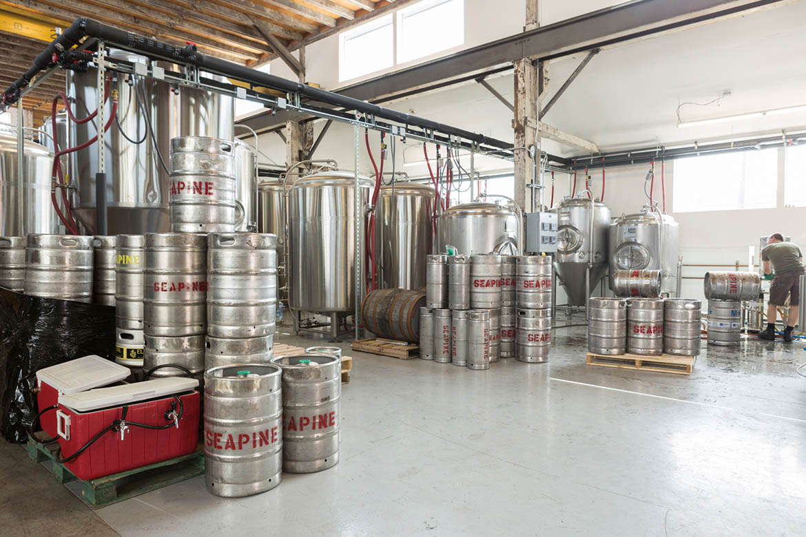 Hill Building - Craft Brewery - InSODO Seattle